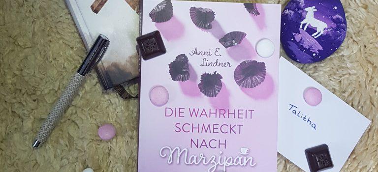 Die Wahrheit schmeckt nach Marzipan (Annie E. Lindner, 2021 – Franke-Verlag)